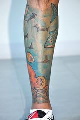 recent tat (outsidemanila) Tags: tattoo octopustattoo underwatertattoo alexrodolfotattoo oceanscenetattoo aquariumtattoo fishsharktattoo leghalfsleeve