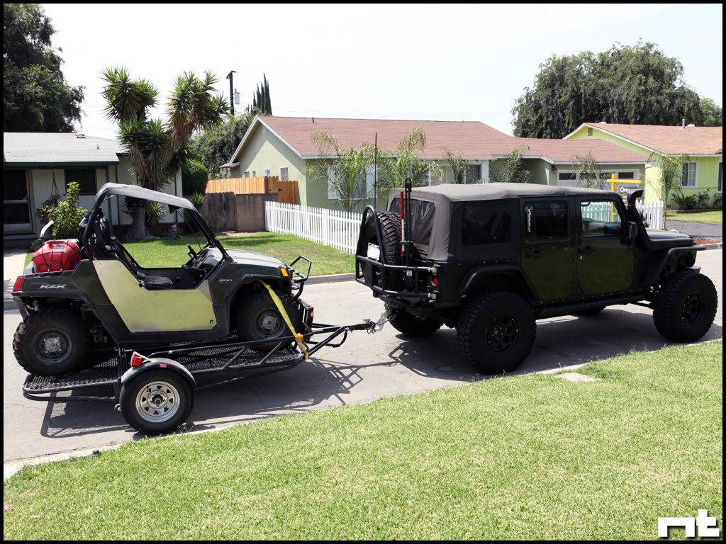 22 amazing utv camper trailer fakrub elegant gooseneck trailers to bumper hitches so when he built a trailer asfbconference2016 Choice Image