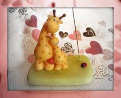 Mam jirafa con su hijito / Mamma giraffa con suo figlio (ArtWen) Tags: picnik