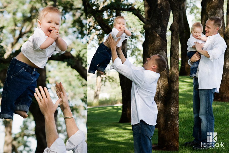 Lungren Family portraits at the Folsom LDS Temple by Teresa K photography