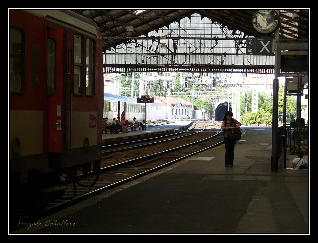 Bayona. Estación de Ferrocarril