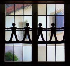 We'll walk hand in hand.... (der_Corse) Tags: church juni silhouettes kirche 2009 isst schönaich kampagne campain silhouetten brotfürdiewelt coolgermany juni2009 wellwalkhandinhand niemandisstfürsichallein gegenhunger againsthunger