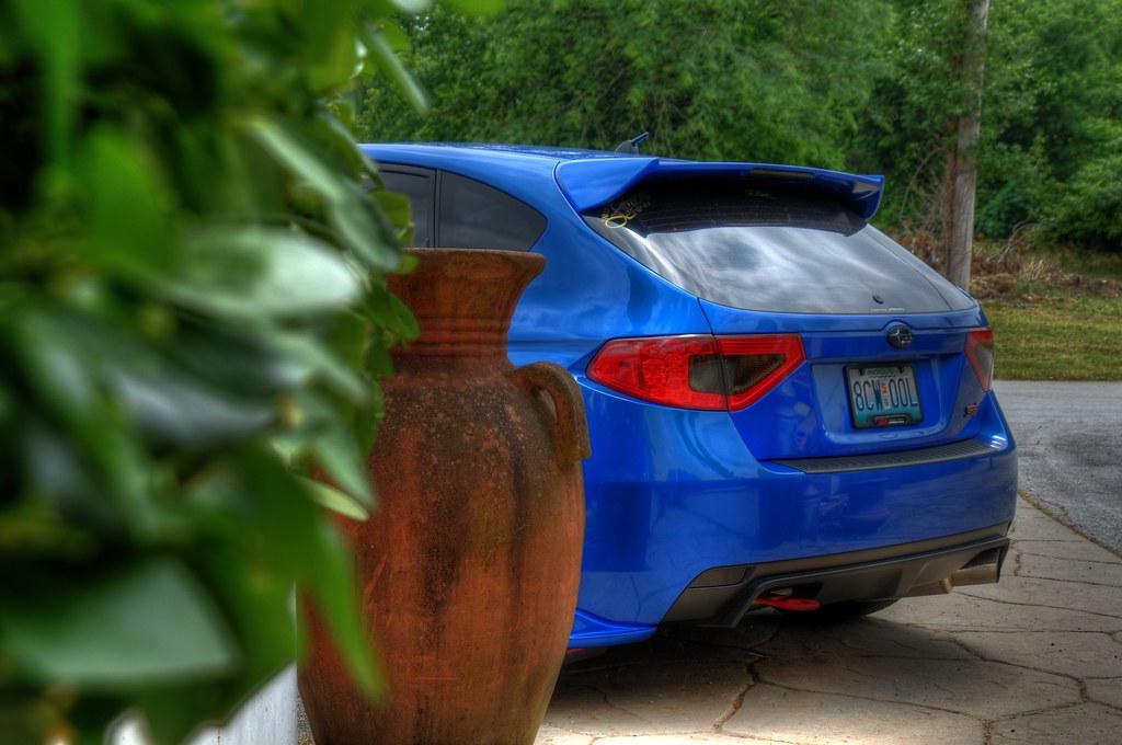 New Bluebatmobile Tail Overlays Subaru Impreza Wrx Sti