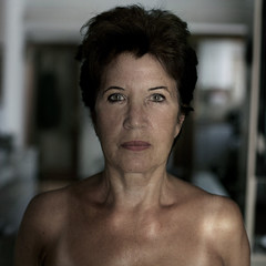 Gianna (.unsuono.) Tags: portrait woman home face square mamma gianna