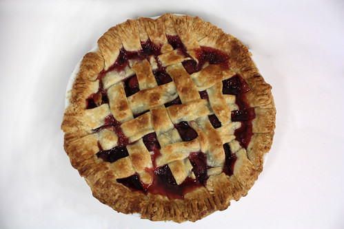 Top Cherry Pie
