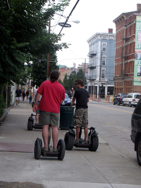 Segways in OTR