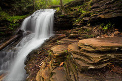 ricketts glen pa 5d spring 2009 1560 [no invites/icons please] (blypix) Tags: park fall tuscarora waterfall harrison adams state pennsylvania glen wright shawnee 2009 reynolds ricketts ganoga bly2k binhlyfineartforsale wwwblypixcom