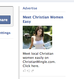 Busty Christian Singles Ad