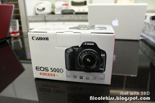 brand new canon 500D in box