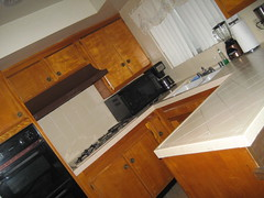 our kitchen (_melika_) Tags: kitchen moving apartment move movingday inglewood awayfromhome livingwithboyfriend