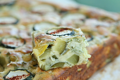 Kourkouri - a Greek zucchini pie / Kreeka suvikõrvitsarull