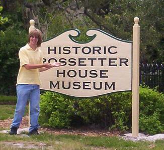 Brevard Center Internship Spotlight. Touring at The Rossetter House Museum