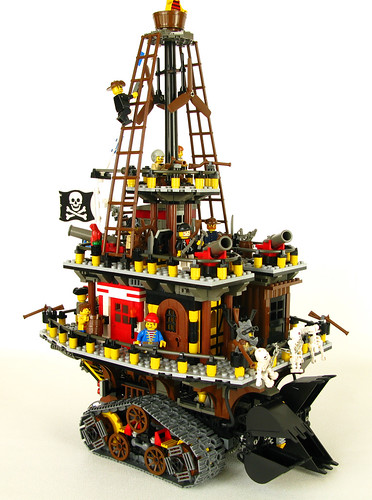 LEGO Mortal Engines traction city