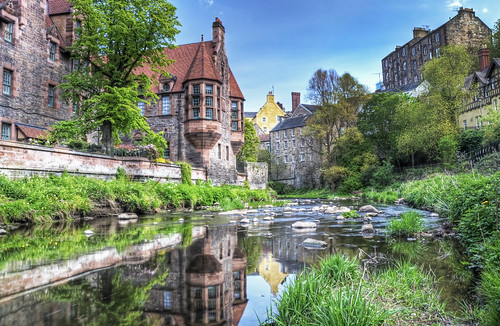 Dean Village in summer - Explored