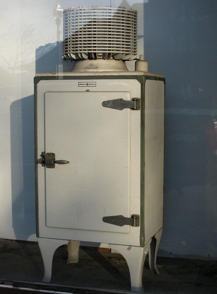 Vintage General Electric Refrigerators 40