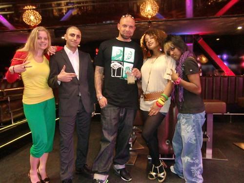 Sarah, MC Sadri, Marcel, Zita & D-Shawt