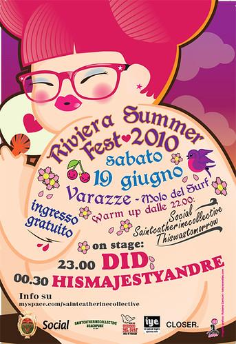 riviera summer fest - did live + hismajestyandre 3 - fanzine