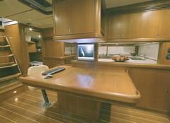 Marine cabinetry using veneered X-Board Plus