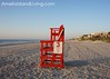 Fernandina Lifeguard Chairs Back at Main Beach For Summer Season