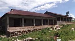The dormitories are almost finished! They may be the nicest in the district.
