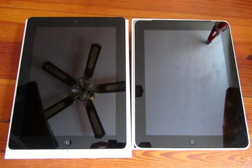 ipad 1 vs ipad 2. Comparison of iPad 1 vs iPad 2