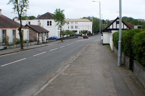 Street Scene, Tillicoultry