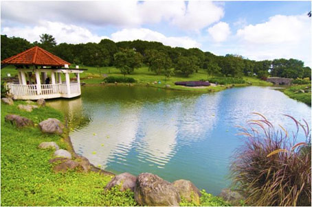 The serene environment at Ayala Westgrove Heights really makes me want to live there someday - CertifiedFoodies.com