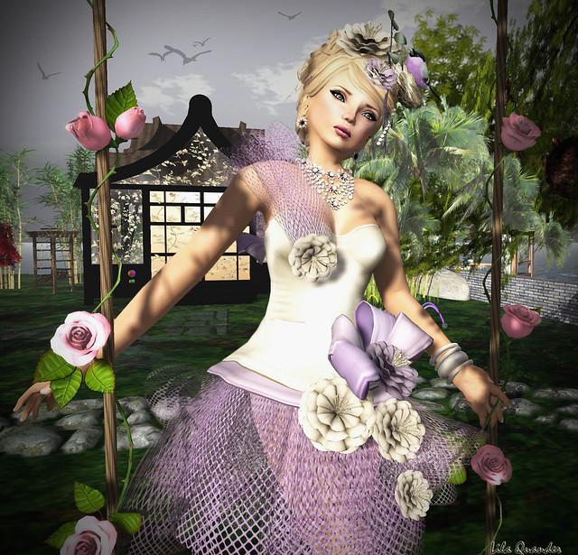 Donna Flora CRISTIANA - Lilac