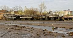 7) Barge Skeleton (95wombat) Tags: newyork abandoned statenisland derelict arthurkill corroding marinegraveyard