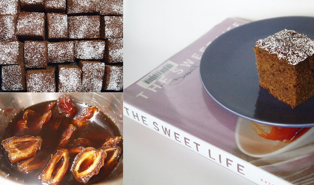 Sticky Date Cake, made by the Sticky Penguin from The Sweet Life: Desserts from Chanterelle, by Kate Zuckerman