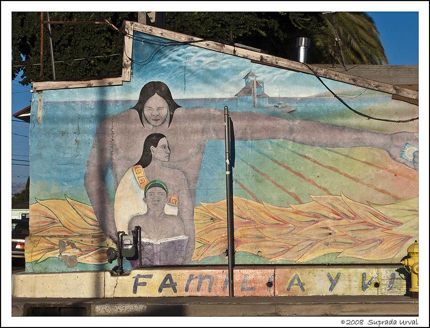 Familiay Mural in Alviso