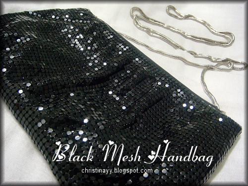 Black Glomesh Handbag