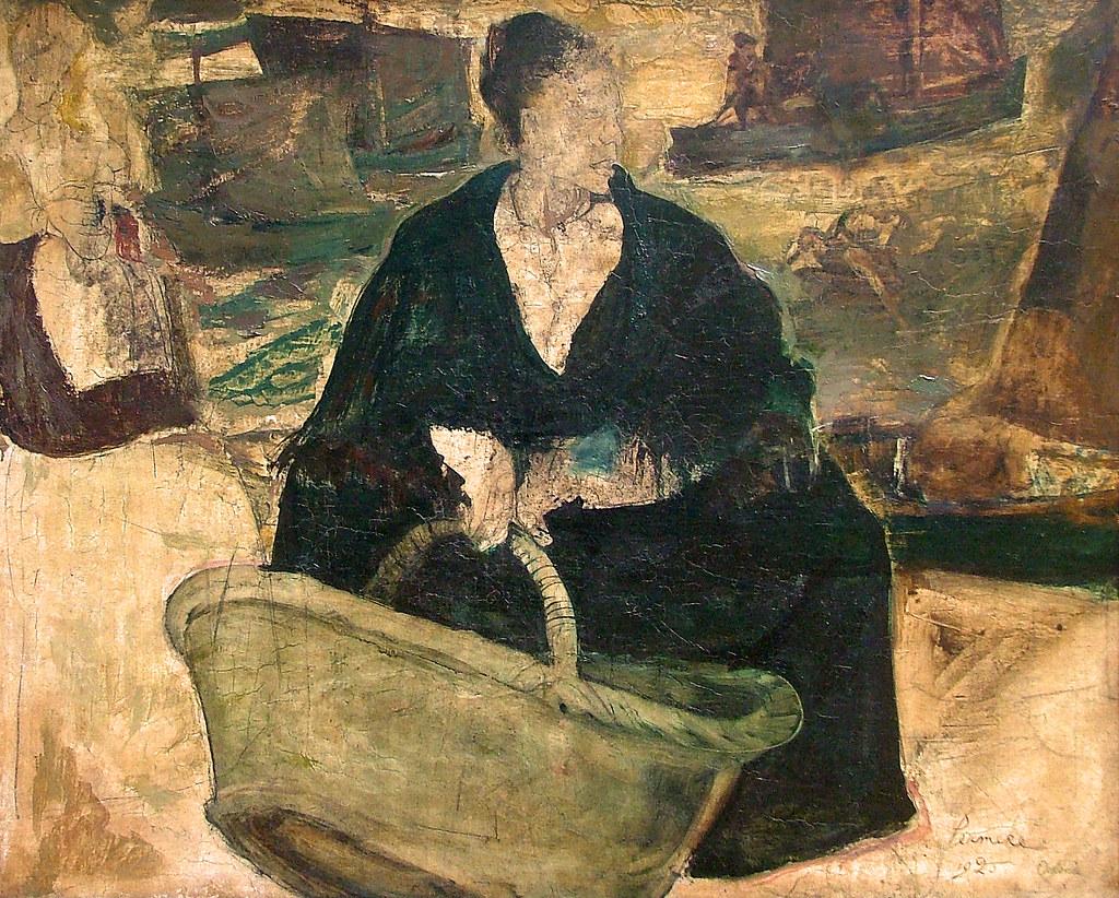 Constant Permeke, Fisherman's Woman