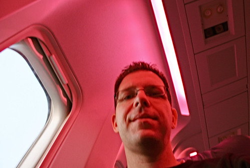 Disco lights aboard Air Canada 877