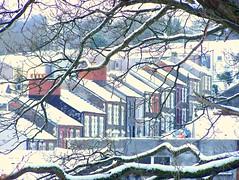 Winter Streets in Ynysybwl (robin.croft) Tags: street snow landscape rct ynysybwl rhonddacynontaff midglamorgan