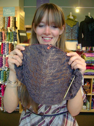 Haven's swallowtail shawl