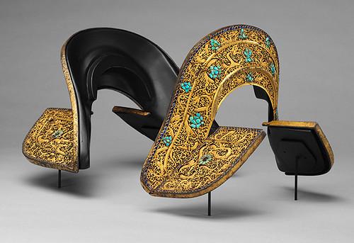 018-Conjunto de silla de montar-aC 1400-Tibetano o chino- Copyrigth © 2000-2009 The Metropolitan Museum of Art