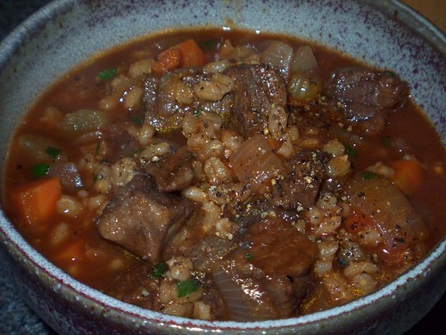 beef and barley soup 2