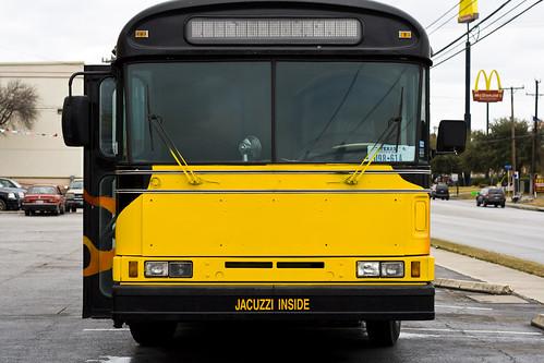 Jacuzzi Bus