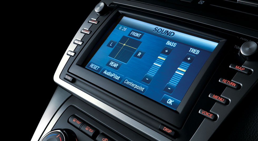 Mazda 6 Navigation system
