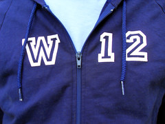 W12 hoody close up 1 (i love my postcode) Tags: london hoodie postcode w12