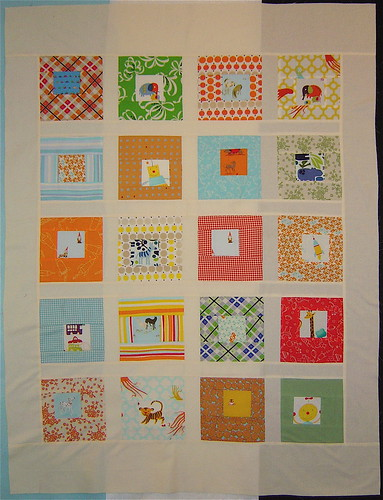 Finished Quilt top