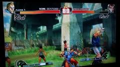 Ken vs. Rufus Gameplay (Jemlnlx) Tags: street 2 3 canon lens eos video screenshot fighter mark 4 ken rufus ii di 5d tamron playstation iv f28 xr ps3 1080p gameplay 2875mm