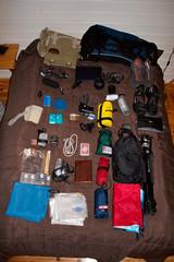 My gadget packing list (Christian Haugen) Tags: travel gear equipment list gadgets packinglist
