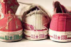In color (cgines) Tags: shoe converse chucks chucktaylor