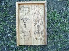 Catagory Rune Board (dragonoak) Tags: nordic celtic viking runes futhark asatru diviniation castingboard