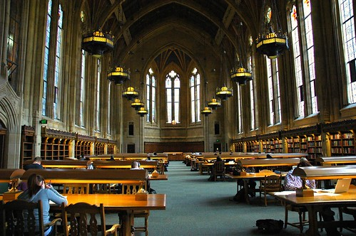 Suzzallo Library, one of the great libraries of the world - studying here embues you with a feeling of scholarly history, Seattle, Washington, USA by Wonderlane