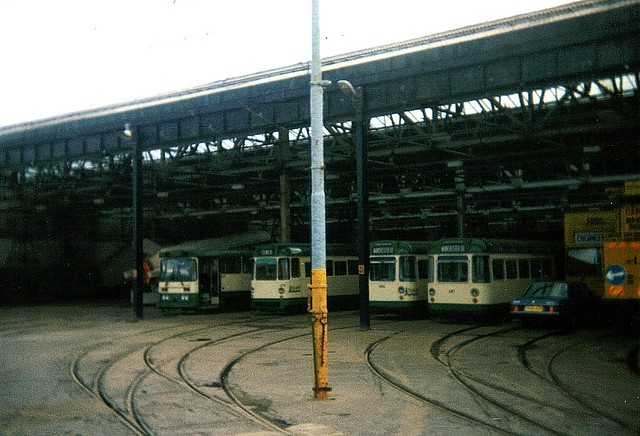 Blackpool Tram Depot 1 by 3000 F300 XOF (AKA Celestial Toymaker)
