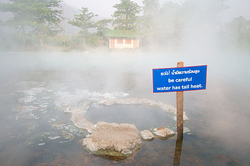Pha Bong Hot Springs, outside Mae Hong Son