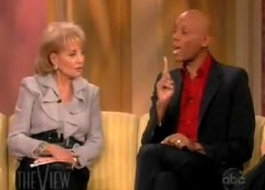 RuPaul on the View